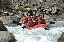 Rafting sur l'Ubaye Attention rapide.jpg