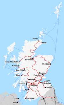 Train Routes In Scotland Map.Abellio Scotrail Wikipedia