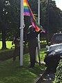 Raising of the Pride flag at NUI Galway.jpg