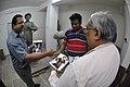 Raj Kapoor Statue In Progress - Kolkata 2017-08-08 4069.JPG