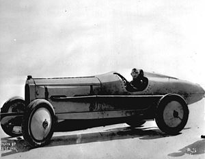 Ralph DePalma - Ralph DePalma and his Packard V-12 in 1919