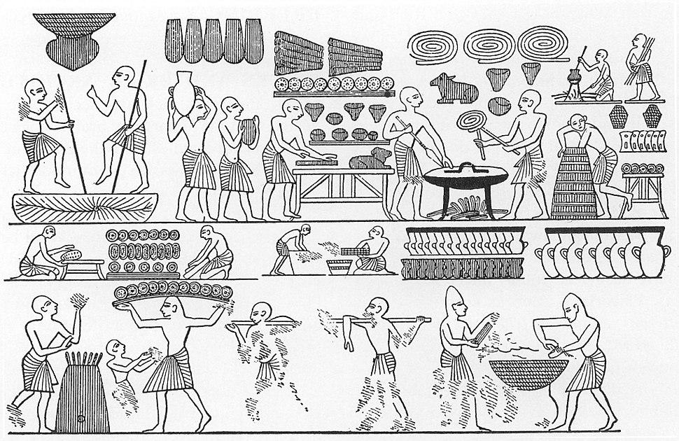 Ramses III bakery