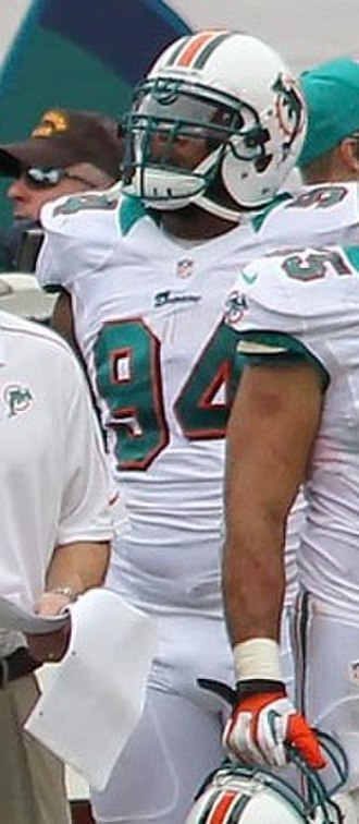Randy Starks - Stark with the Miami Dolphins in 2012