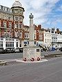 Rangers War Memorial, Weymouth Esplanade (geograph 5419274).jpg