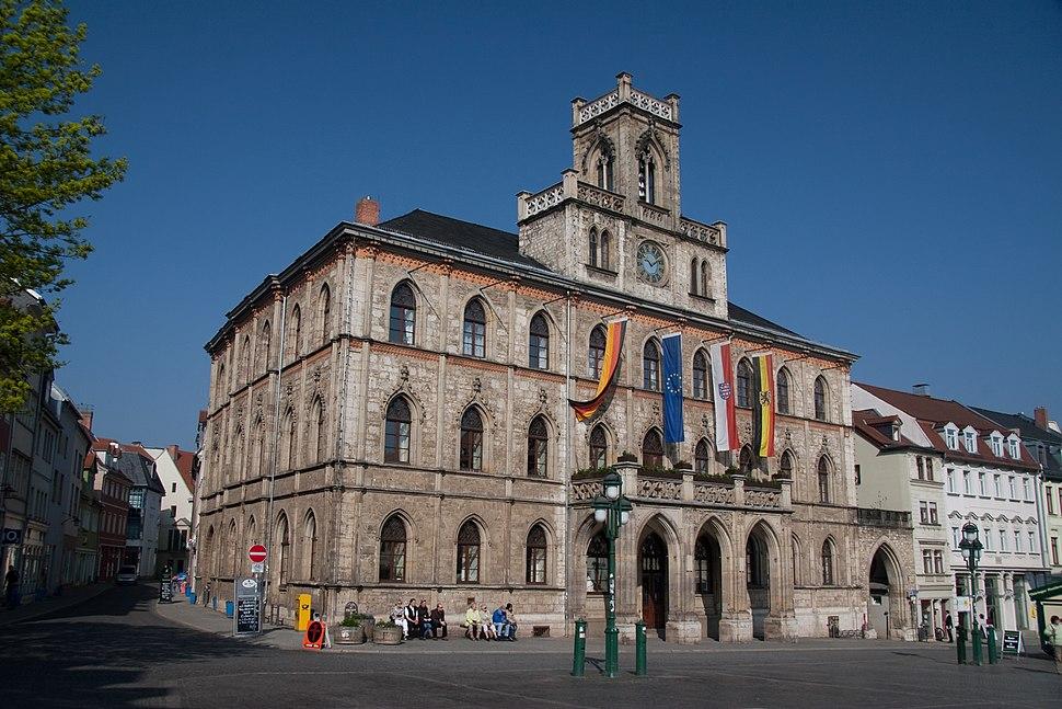 Rathaus, Weimar - 1