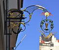 Ravensburg Kirchstraße7 Bankschild.jpg
