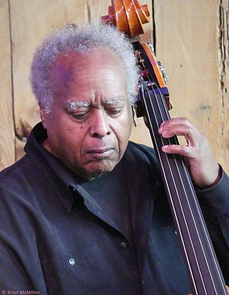 Ray Drummond at Bach Dancing & Dynamite Society, Half Moon Bay, California, July 8, 2017 Ray Drummond.jpg