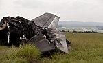 Rear view of horizontal stabilizer from UPS flight 1354. (9518978172).jpg