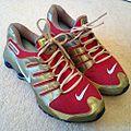 Red & Gold Nike Air Shox.JPG