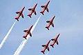 Red Arrows - RIAT 2007 (3088362999).jpg
