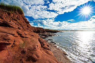 Prince Edward Island National Park - Image: Red Earth Prince Edward Island 2010