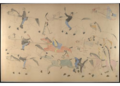 Red Horse pictographic account of the Battle of the Little Bighorn, 1881. 9400.png