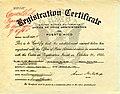 Registration Certificate for the Restaurant El Leon de Oro - NARA - 6341081.jpg