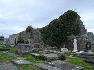 Kilfarboy - Remains of St. Laichtins Church, Kilfarboy