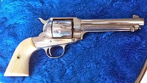 Remington Model 1890 - Image: Remington Nickel 1888
