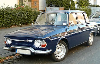 Renault 8 and 10 - Renault 10 (1965–67), round headlight version