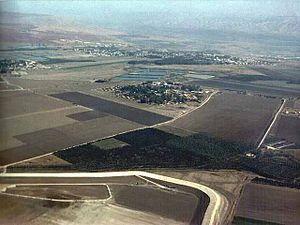 Reshafim - Image: Reshafim aerial view