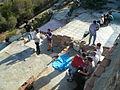 Restes museïtzades dels antiaeris del turó de la Rovira P1500870.jpg