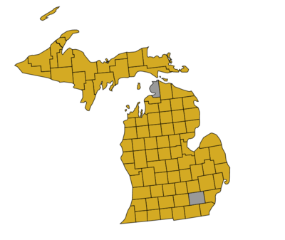 Results of the Michigan Democratic Primary, 2008.png