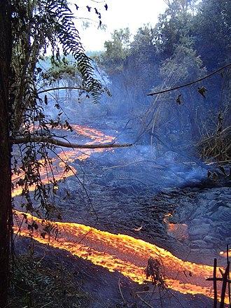 Piton de la Fournaise - 2004 eruption