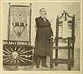 Rev. George K. MacDonald exhibits a death chair as a warning.jpg