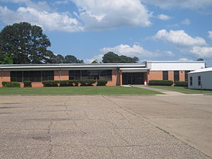 Northwest Louisiana Technical College - The former NWLTC building (1952-2013) off Constable Street in Minden, Louisiana