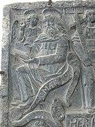 Ribe St.Katharina - Epitaph 2 Evangelist Matthäus
