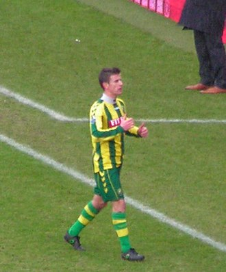 Richard Knopper - Knopper playing for Den Haag in 2009
