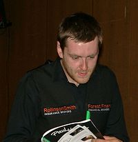 Ricky Walden beim Paul Hunter Classic 2008.jpg