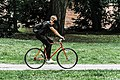 Riding bike with mask - Flickr - photoheuristic.info.jpg