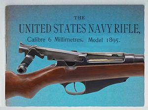 M1895 Lee Navy - Lee Navy rifle 1895, open bolt