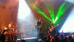 Rise Against at RAMFest 2013 in Johannesburg, South Africa.jpg