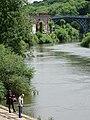River Severn View with Iron Bridge - Ironbridge - Shropshire - England (27921072980).jpg