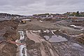 Road construction at E25 by Rudshøgda, Hedmark, Norway.jpg