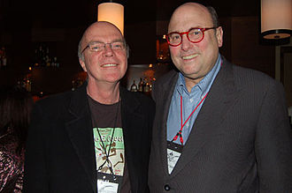 Peter Straub - Straub (right) with Rob Hood in 2007