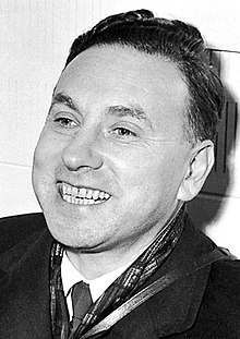 Winner of the 1961 Nobel Prize in Physics Robert Hofstadter.