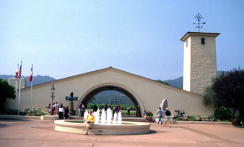 File:Robert Mondavi entrance.jpg
