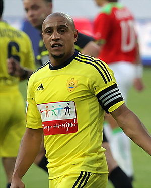 Racism in Russia - Playing for a Russian team, Roberto Carlos was twice faced with racial abuse on the field.