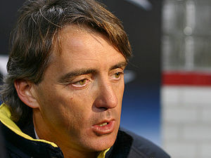 Roberto Mancini - Mancini pictured in 2004 as Inter manager.