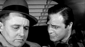 Rod Steiger - Steiger with Marlon Brando in On the Waterfront (1954)