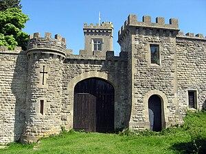 Rodborough - An entrance to Rodborough Fort
