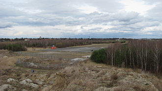 Munich-Riem Airport - The last remaining part of the runway