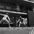 Rome 1960 fencing Carpaneda vs Glazer.jpg