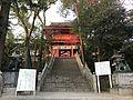 Romon gate and sando of Sumiyoshi Shrine.jpg