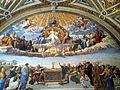 Room of the Segnatura - Disputation of the Holy Sacrament (15648102865).jpg