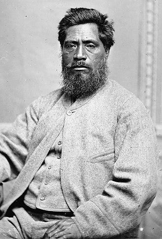 Te Kooti's War - Major Ropata Wahawaha