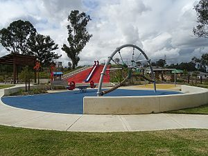 Ropes Crossing, New South Wales - Playground on Susannah Drive, Ropes Crossing