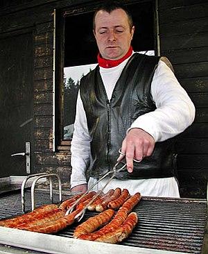 Thuringian sausage - Thüringer sausages