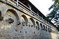 Rothenburg ob der Tauber Sterngasse Stadtmauer mit Wehrgang-001.jpg