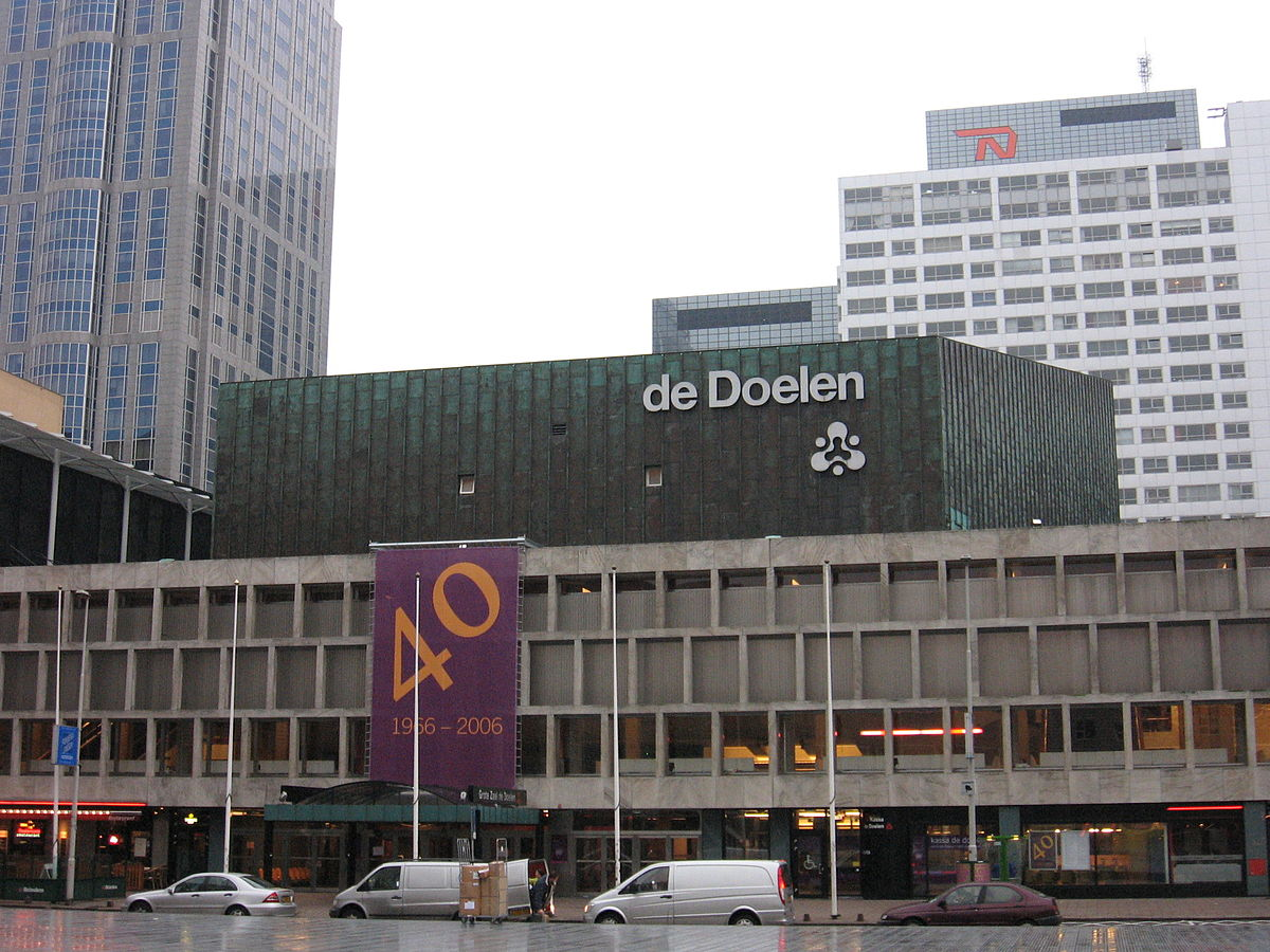Concertgebouw de Doelen   UITGAAN IN ROTTERDAM